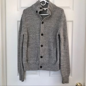 GAP 100% cotton chunky cardigan - Gray